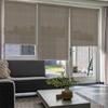 Afbeelding van Rolgordijn op maat Brede ramen - Taupe greige Transparant