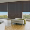 Afbeelding van Rolgordijn op maat Brede ramen - Chocolade bruin Transparant