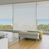 Afbeelding van Rolgordijn op maat Brede ramen - Wit zand Transparant
