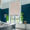 Afbeelding van Rolgordijn op maat met Montageprofiel - Glans beige/roze Verduisterend