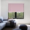 Afbeelding van Rolgordijn op maat met Montageprofiel - Roze licht macaron Verduisterend