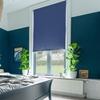 Afbeelding van Rolgordijn op maat met Montageprofiel - Zeeblauw Verduisterend