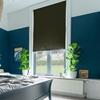 Afbeelding van Rolgordijn op maat met Montageprofiel - Donkergroen luxe Verduisterend