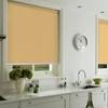 Afbeelding van Rolgordijn op maat met Montageprofiel - Geel donker chiquita Verduisterend