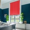 Afbeelding van Rolgordijn op maat met Montageprofiel - Rood roze Verduisterend