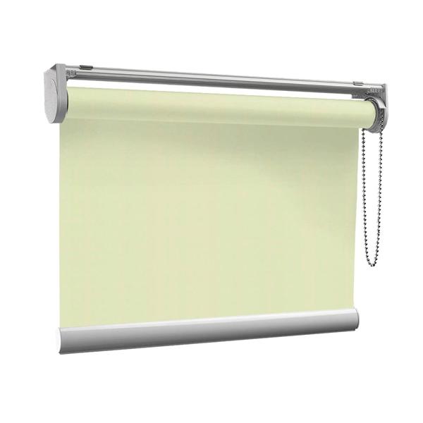 Afbeelding van Rolgordijn op maat met Kliksysteem - Lichtgroen pastel dream Semi transparant
