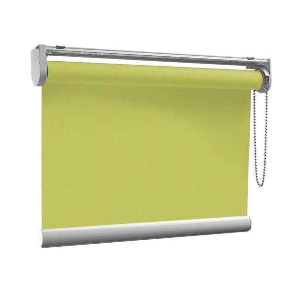 Afbeelding van Rolgordijn op maat met Kliksysteem - Limegroen Semi transparant