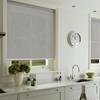 Afbeelding van Rolgordijn op maat met Kliksysteem - Silver grey Semi transparant