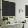 Afbeelding van Rolgordijn op maat met Kliksysteem - Zwart vintage Semi transparant