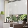 Afbeelding van Rolgordijn op maat met Kliksysteem - Lichtgrijs lucht Semi transparant