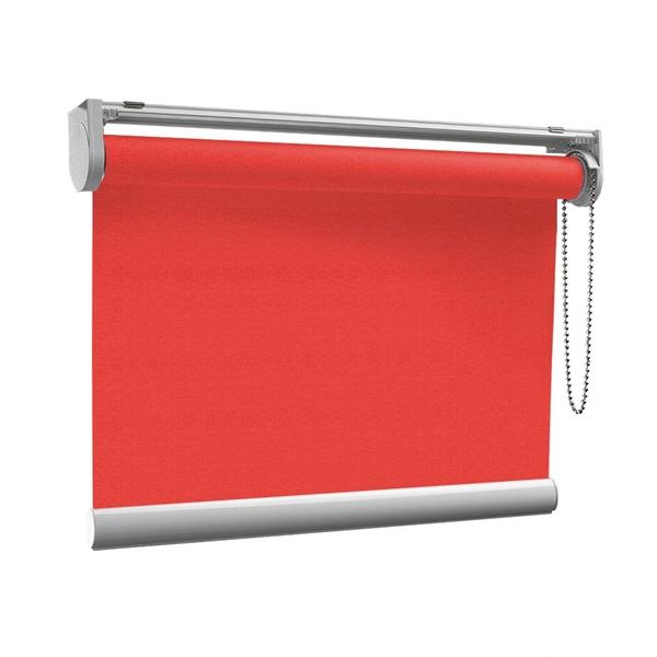 Afbeelding van Rolgordijn op maat met Kliksysteem - Rood gala Semi transparant