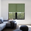 Afbeelding van Rolgordijn op maat Klik-en-klaar - Glans groen gemeleerd Transparant
