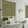 Afbeelding van Rolgordijn op maat Klik-en-klaar - Glans olijfgroen Transparant