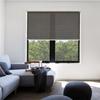 Afbeelding van Rolgordijn op maat Klik-en-klaar - Luxe bruin  gemeleerd Transparant
