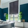Afbeelding van Rolgordijn op maat Klik-en-klaar - Nacht blauw transparant Transparant