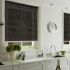 Afbeelding van Rolgordijn op maat Klik-en-klaar - Zwart Transparant